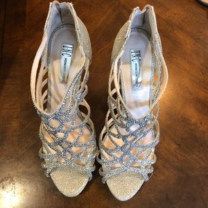 INC Sparkly Dress Heels